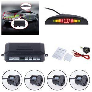 NOVO Bežični parking senzori 4 komada u crnoj i sivoj boji